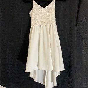 NWT Girls White Dress size 10